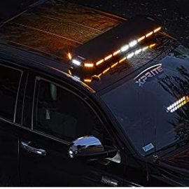 Xprite 48″ Amber Emergency Strobe Bar Lights