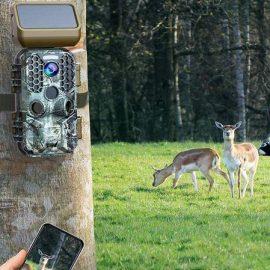 Campark Solar Power Trail Camera (30MP 4K)