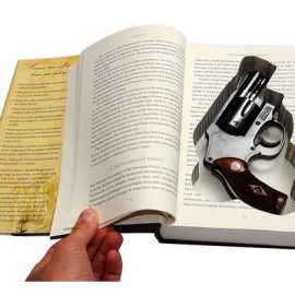 Smith and Wesson Revolver Book Safe