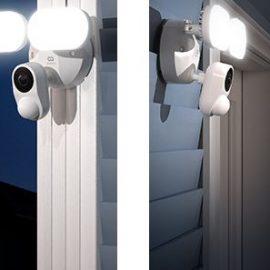 COOAU 2K Floodlight Camera with WiFi