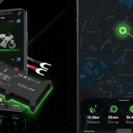 SIZZAPP Smart Motorcycle Security System