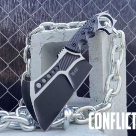 M48 Conflict Cleaver With Vortec Sheath for Survivalists