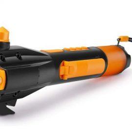Flexzion Emergency LED Flashlight with Hand Crank