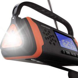 FosPower Emergency Solar Hand Crank Radio