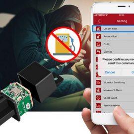 Micodus MV720 Car GPS Tracker, Remote Control