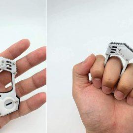 TOYOGE Self Defense Knuckle Dusters