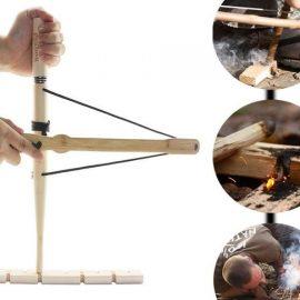 PSKOOK Bow Drill Kit / Fire Tool